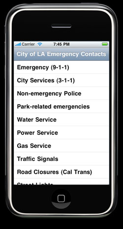 LA City Emergency Screenshot